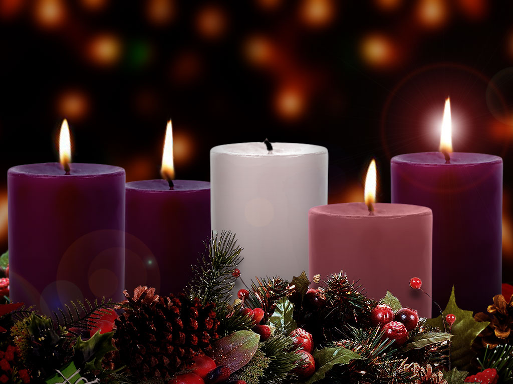 Image result for four advent candles