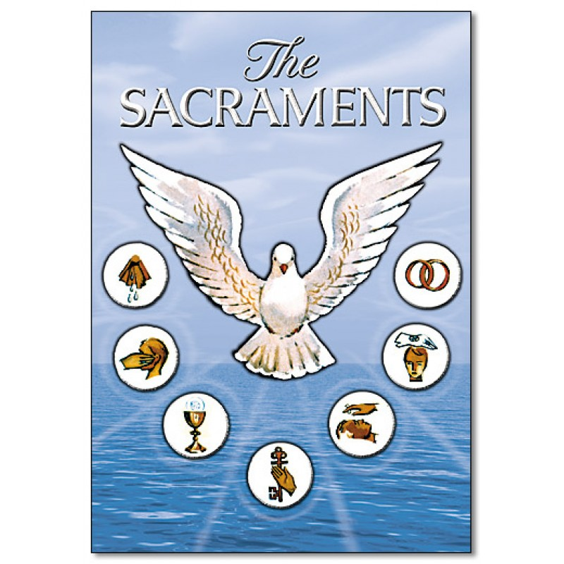 describing the religious symbolism of the sacrament according to the catholics Catholic symbols - significance and representations catholic symbols use signs and emblems to teach and present various concepts of the christian religion catholic symbols or, symbolism, provide clear graphic illustrations which represent people, saints and items of religious significance.